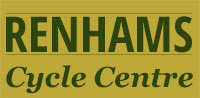 Renhams Cycle Centre Retina Logo